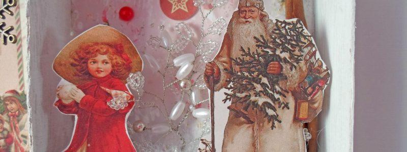 Мастеркласс: Рождественский shadow box