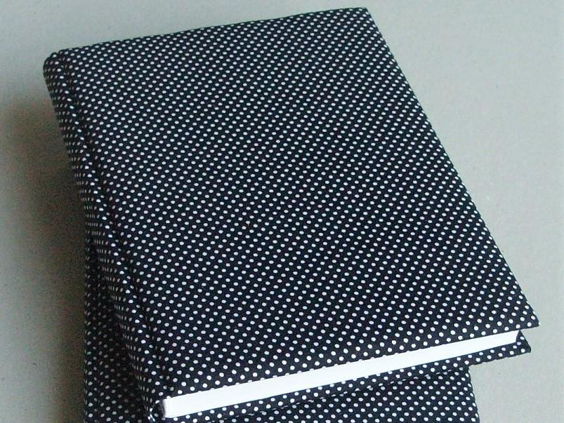 Блокнот в текстильной обложке