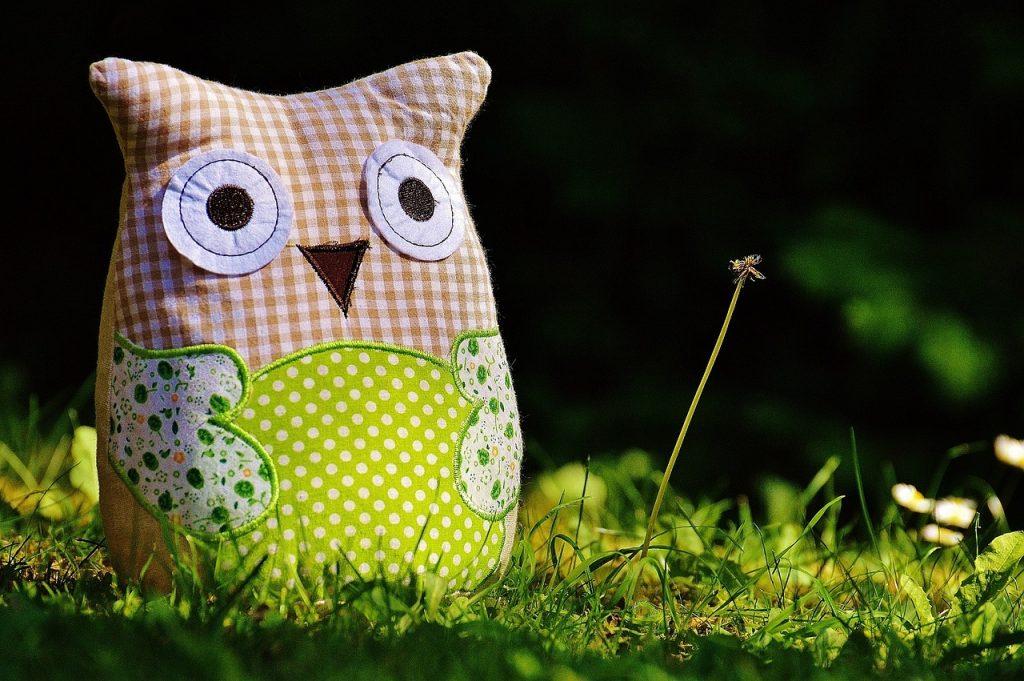Интерьерная игрушка из текстиля