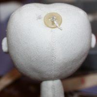Текстильная кукла: крепим голову