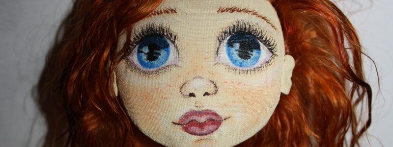 Текстильная кукла своими руками. Часть II