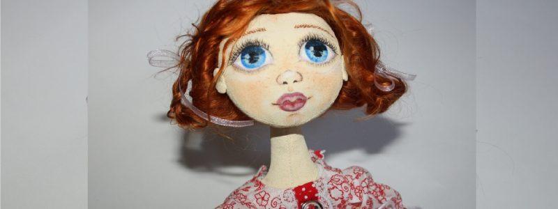 Текстильная кукла своими руками. Часть III
