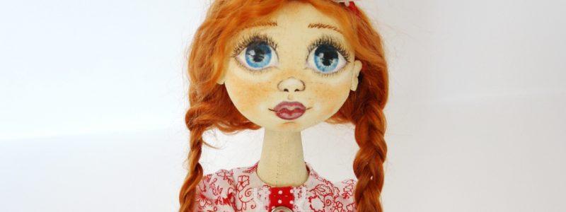 Текстильная кукла своими руками. Мастеркласс. Часть I